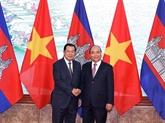 Le gouvernement et l'AN vietnamiens adressent des messages de félicitations au Cambodge