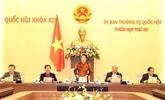 Le Comité permanent de l'Assemblée nationale se réunit pour la 50e réunion