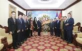 Les relations d'amitié Vietnam - Laos ne cessent de se développer
