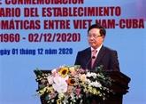 Célébrer le 60e anniversaire des relations diplomatiques bilatérales