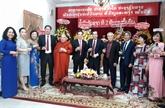 Hô Chi Minh-Ville félicite le Laos pour sa 45e Fête nationale