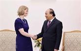 Le PM loue les liens étroits entre le Vietnam et la Nouvelle-Zélande