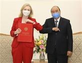 Le Premier ministre vietnamien reçoit la ministre britannique du Commerce international
