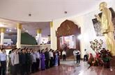 Hommage au président laotien Kaysone Phomvihane