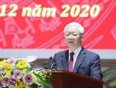 Le leader du PCV fait l'éloge de la lutte contre la corruption