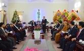 Vœux de Noël du FPV aux catholiques du diocèse de Bùi Chu