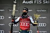 Le Slovène Martin Cater crée la surprise, Clarey 5e de la descente à Val d'Isère