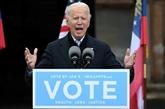 Biden renoue avec la campagne électorale en Géorgie