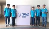 Cinq élèves vietnamiens primés aux Olympiades internationales de physique 2020