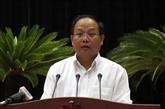 Un ex-responsable du Comité du Parti de Hô Chi Minh-Ville arrêté