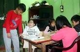 La classe spéciale de l'enseignante