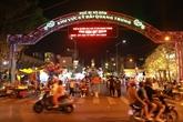 Une nouvelle rue piétonne attirante à Hô Chi Minh-Ville
