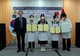 Concours de cuisine K-food Festival à Dà Nang