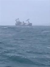 Un navire battant pavillon panaméen coulé à Binh Thuân, 11 personnes secourues