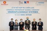 Vingroup coopère avec Dassault Systèmes pour promouvoir la conversion numérique