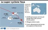 Fidji : Au moins deux morts et des villages dévastés par le cyclone Yasa