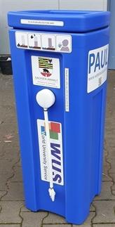 Le land allemand de Saxe-Anhalt offre des systèmes de filtration d'eau portable au Centre