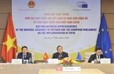 L'AN du Vietnam et le PE discutent de la mise en œuvre de l'EVFTA