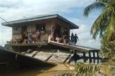 Les Philippines évacuent près de 10.000 personnes à cause d'intempéries