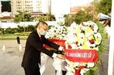Hommage aux soldats vietnamiens tombés au Cambodge