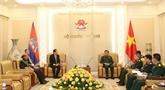 Vietnam et Cambodge boostent leur coopération dans la défense