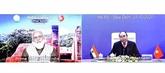 Les PM vietnamien et indien s'entretiennent en ligne