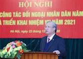 La diplomatie populaire appelée à continuer d'adopter des réformes