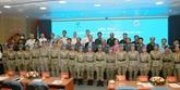 L'Hôpital de campagne de niveau 2 N°3 du Vietnam en dernière formation