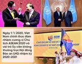 2020 : une année de succès pour la diplomatie vietnamienne