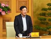 La diplomatie affirme la position du Vietnam sur la scène internationale