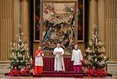 À Noël, le pape appelle à