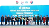 Ouverture du Festival de la jeunesse Vietnam - ASEAN 2020