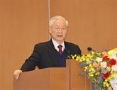 Nguyên Phu Trong exhorte à promouvoir le Renouveau