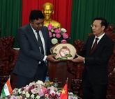 Promouvoir la coopération entre Kiên Giang et des localités indiennes