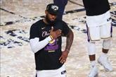 NBA : James va prolonger son contrat jusqu'en 2023 avec les Lakers