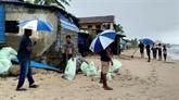Après avoir frappé le Sri Lanka, un cyclone se dirige vers l'Inde