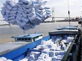 Exportation de riz du delta du Mékong en 2020
