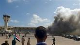 Yémen : 26 morts dans des explosions à l'arrivée du gouvernement d'union à Aden