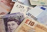 La livre britannique au plus haut en un an face à un dollar américain bas