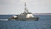 Une patrouille conjointe sur la sécurité maritime
