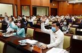 Ouverture de la 23e session du Conseil populaire de Hô Chi Minh-Ville