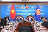 ASEAN 2020 : la bonne gouvernance contribue à une lutte efficace contre la corruption