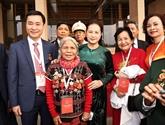 Émulation patriotique : la présidente de l'AN rencontre des délégués