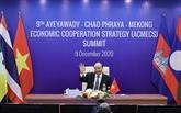 Le Premier ministre vietnamien au Sommet ACMECS-9