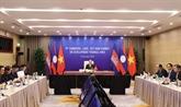 Nguyên Xuân Phuc au 11e Sommet du Triangle de développement Cambodge - Laos - Vietnam