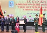 Le Premier ministre souligne les réalisations socio-économiques de Vinh Phuc