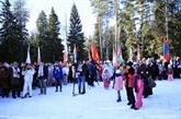 L'ambassade du Vietnam participe aux Jeux diplomatiques d'hiver en Russie