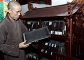 Pour une meilleure valorisation des tablettes de bois de la pagode Vinh Nghiêm