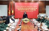 Dang Thi Ngoc Thinh travaille avec le Département général N°2 du ministère de la Défense