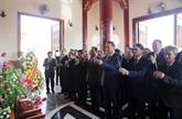 Le ministre de la Police, Tô Lâm, en visite de travail au Laos
